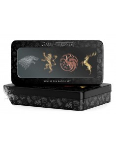 Game of Thrones - GOT Ansteck-Pin 4er-Pack Haupthäuser
