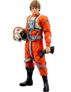 Star Wars EP IV ArtFX+ 1/10 Luke Skywalker X-Wing Pilot
