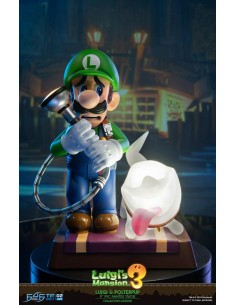 Luigi's Mansion 3 PVC Statue Luigi and Polterpup - Collector's Edition