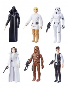 Star Wars EP IV Retro Collection Actionfiguren 3,75inch Wave 1 - Set of 6 EU