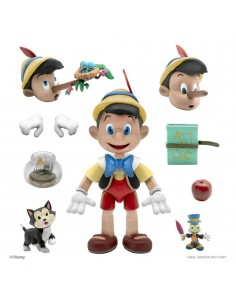 Super7 Disney Ultimates Actionfigur - Pinocchio